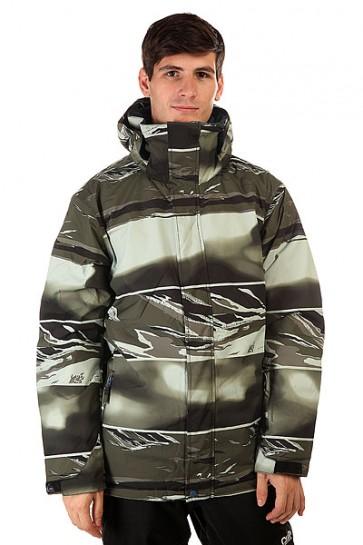 Куртка Quiksilver Mission Print Alaskan Camo Militar, 1130770,  Quiksilver, цвет зеленый