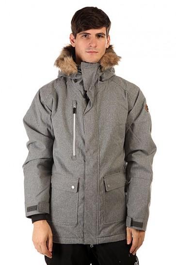 Куртка Quiksilver Selector Jkt Iron Gate, 1130778,  Quiksilver, цвет серый