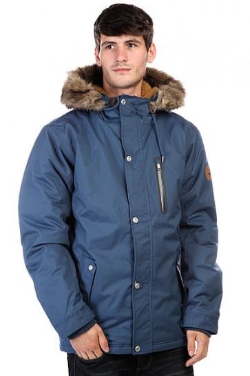 Куртка парка Quiksilver Arris Jkt Dark Denim, 1124800,  Quiksilver, цвет синий