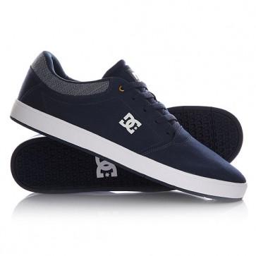 Кеды кроссовки низкие DC Crisis Tx Navy, 1145063,  DC Shoes, цвет синий