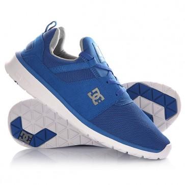 Кроссовки DC Heathrow M Blue/Grey, 1145069,  DC Shoes, цвет синий