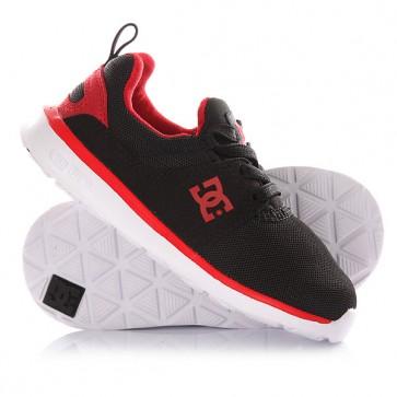 Кроссовки детские DC Heathrow T Black/Red/White, 1145079,  DC Shoes, цвет красный, черный