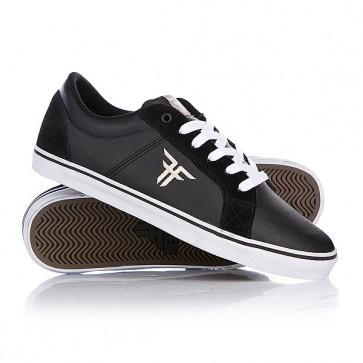 Кеды кроссовки низкие Fallen Griffin Black/Khaki, 1087215,  Fallen, цвет черный