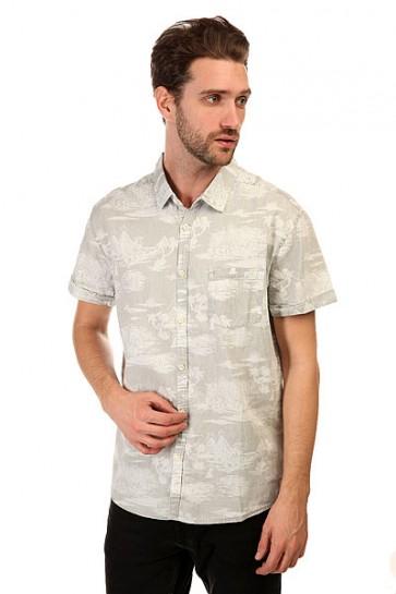 Рубашка Quiksilver Pyramid Point S Pyramid Point Shirt Sandy White, 1145116,  Quiksilver, цвет серый