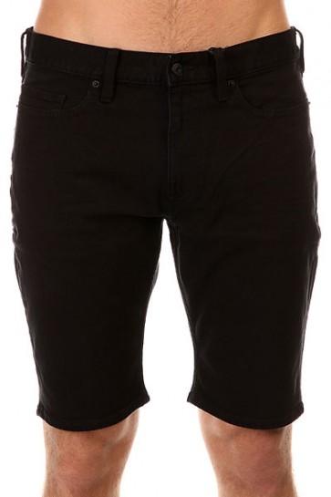 Шорты джинсовые DC Worker Straight Black Rinse, 1145146,  DC Shoes, цвет черный