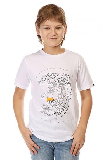 Футболка детская Quiksilver Radical Surfing Tees White, 1142384,  Quiksilver, цвет белый
