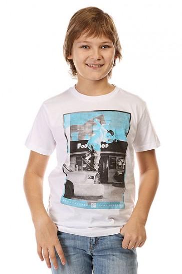 Футболка детская DC Kaliscab Ss By Tees White, 1142416,  DC Shoes, цвет белый