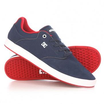 Кеды кроссовки низкие DC Mikey Taylor Navy/Red, 1152258,  DC Shoes, цвет синий