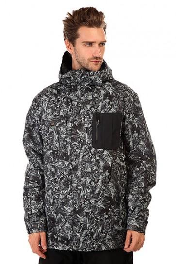 Куртка Quiksilver Illusion Angry Lion, 1131083,  Quiksilver, цвет серый, черный