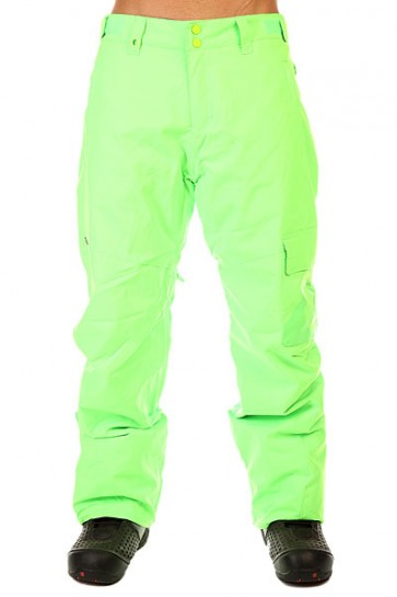 Штаны сноубордические Quiksilver County Ins Green Gecko, 1131112,  Quiksilver, цвет зеленый