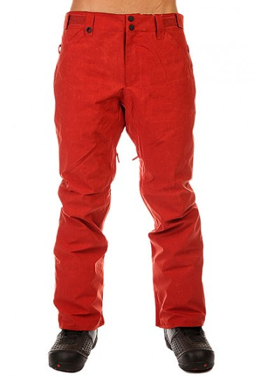 Штаны сноубордические Quiksilver Resort Ins Pant Bossa Nova, 1131116,  Quiksilver, цвет красный