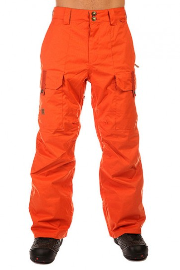 Штаны сноубордические DC Code Pt Burnt Ochre, 1131133,  DC Shoes, цвет оранжевый