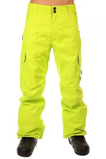 Штаны сноубордические DC Banshee Pt Lime Punch, 1131141,  DC Shoes, цвет зеленый