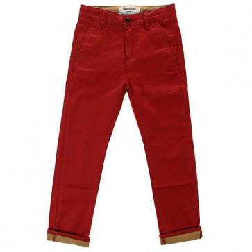 Штаны прямые детские Quiksilver Krans Trai Lawyo B Ndpt Rosewood, 1142503,  Quiksilver, цвет красный