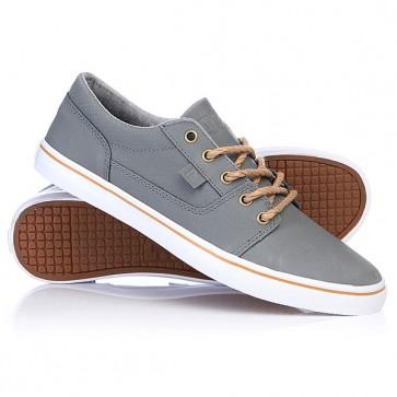 Кеды кроссовки низкие женские DC Tonik W Xe Grey, 1112441,  DC Shoes, цвет серый