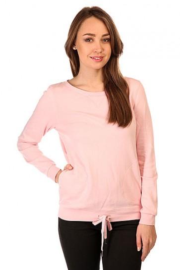 Толстовка свитшот женская Roxy Loungin Pullove Rose Shadow, 1145338,  Roxy, цвет розовый