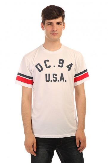 Футболка DC Carter Ss Tees White, 1152489,  DC Shoes, цвет белый