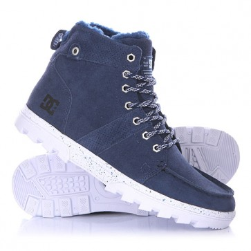 Ботинки высокие DC Woodland Blue, 1134237,  DC Shoes, цвет синий