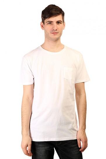 Футболка Quiksilver Adam Son Wall Tee White, 1145645,  Quiksilver, цвет белый
