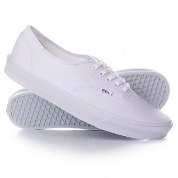 Кеды кроссовки низкие Vans Authentic True An White, 1119583,  Vans, цвет белый