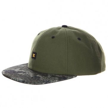 Бейсболка DC Everglade Cap Duffel Bag, 1125028,  DC Shoes, цвет зеленый