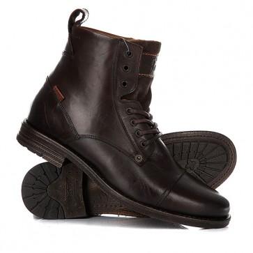 Ботинки высокие Levis Emerson Lace Up Brown, 1156845,  Levis, цвет коричневый