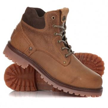 Ботинки зимние Wrangler Yuma Fur Brown/Dark Brown, 1156877,  Wrangler, цвет коричневый