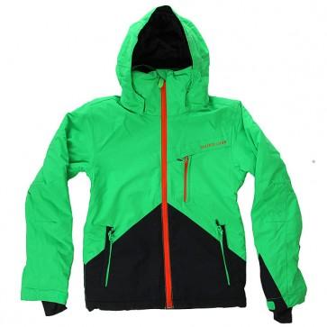 Куртка детская Quiksilver Mission Color Andean Toucan, 1156915,  Quiksilver, цвет зеленый, черный