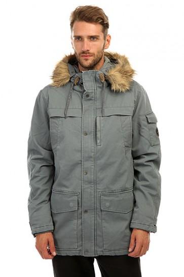 Куртка парка Quiksilver Storm Drop Stormy Weather, 1157077,  Quiksilver, цвет серый