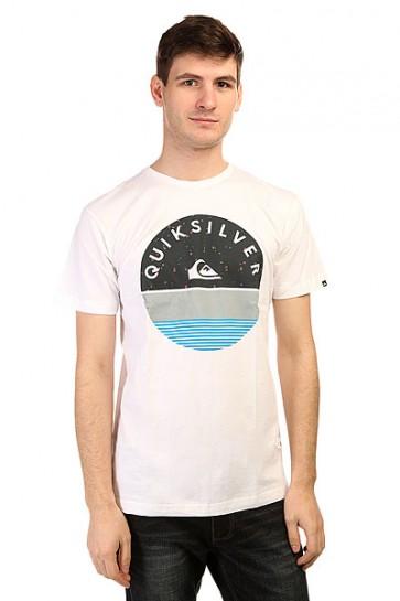 Футболка Quiksilver Classic Tee Xtin Tees White, 1139586,  Quiksilver, цвет белый