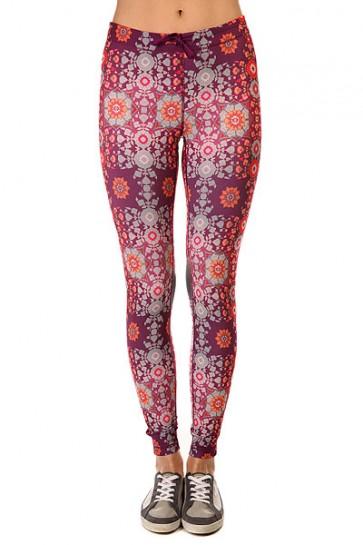 Леггинсы женские Roxy Relay Pant J Ndpt Psychedelic Dream Co, 1142855,  Roxy, цвет мультиколор, фиолетовый