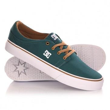 Кеды кроссовки низкие DC Trase Tx Shoe Teal, 1142860,  DC Shoes, цвет зеленый
