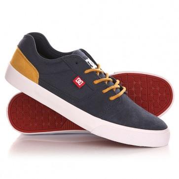 Кеды кроссовки низкие DC Tonik Shoe Navy/Camel, 1142864,  DC Shoes, цвет коричневый, синий