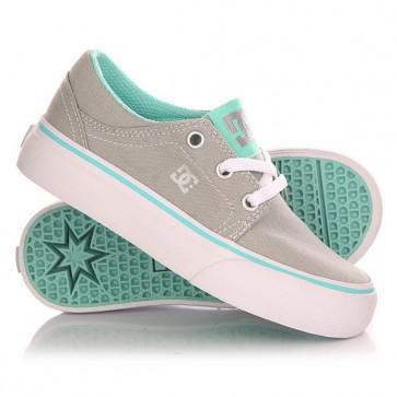 Кеды кроссовки низкие детские DC Trase Tx G Shoe Grey/Blue, 1142876,  DC Shoes, цвет черный