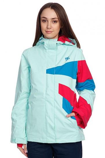 Куртка женская DC Stance Jacket Yucca, 1083300,  DC Shoes, цвет зеленый, красный, синий
