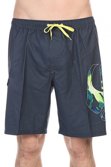 Шорты пляжные Quiksilver Logo Vl 19 Jamv Logo Volley Tarmac, 1115577,  Quiksilver, цвет черный