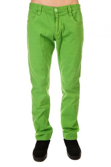 Штаны прямые Urban Classics 5 Pocket Pants Limegreen, 1128337,  Urban Classics, цвет зеленый
