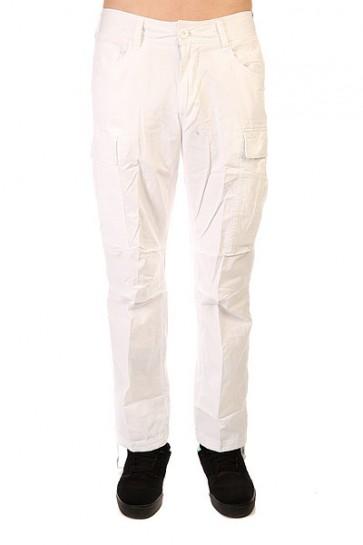 Штаны прямые Urban Classics Combat Cargo Pants White, 1128339,  Urban Classics, цвет белый