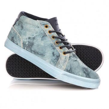 Кеды кроссовки высокие DC Council Mid Lx Washed Indigo, 1146043,  DC Shoes, цвет голубой, синий