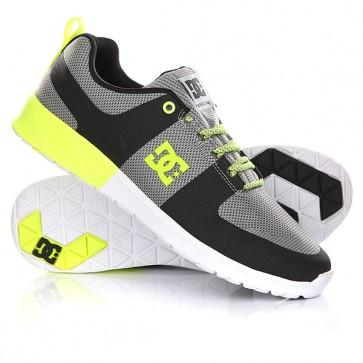 Кроссовки DC Lynx Lite R Grey/Yellow, 1146047,  DC Shoes, цвет желтый, серый, черный