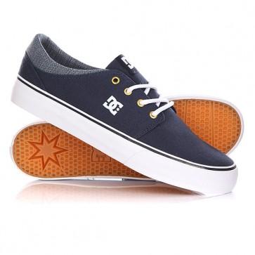 Кеды кроссовки низкие DC Trase Tx Se Navy, 1146048,  DC Shoes, цвет синий