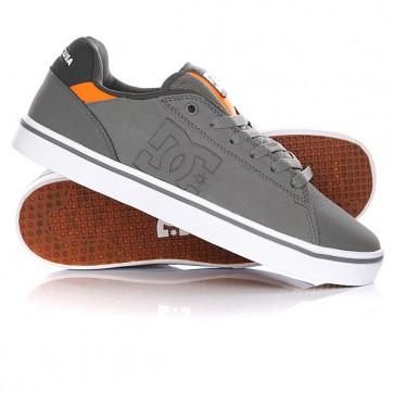 Кеды кроссовки низкие DC Notch Grey, 1146050,  DC Shoes, цвет серый