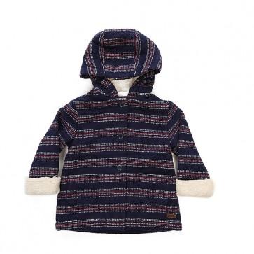 Пальто детское Roxy Fool Wool Stripe Combo, 1158647,  Roxy, цвет синий