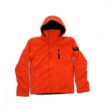 Куртка детская Quiksilver Mission Solid Flame, 1158652,  Quiksilver, цвет оранжевый