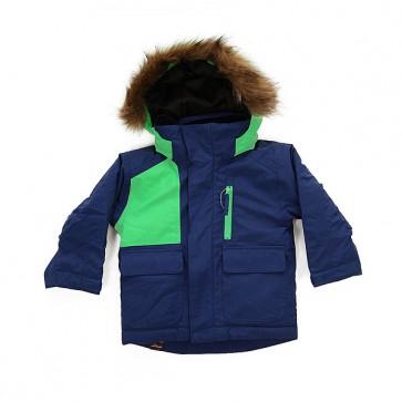 Куртка детская Quiksilver Flake Sodalite Blue, 1158654,  Quiksilver, цвет зеленый, синий
