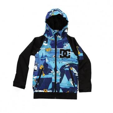 Куртка детская DC Troop Adventure Time, 1158663,  DC Shoes, цвет синий, черный