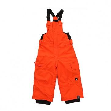 Комбинезон сноубордический детский Quiksilver Boogie Flame, 1158672,  Quiksilver, цвет оранжевый