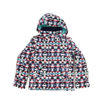 Куртка детская Roxy Rx Jet Geofluo Blue Print, 1158682,  Roxy, цвет мультиколор