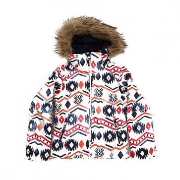Куртка детская Roxy Jetty Ski Waterinca Bright White, 1158689,  Roxy, цвет белый, мультиколор