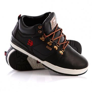 Кеды кроссовки утепленные Etnies High Rise Odb Lx Black, 1070226,  Etnies, цвет черный